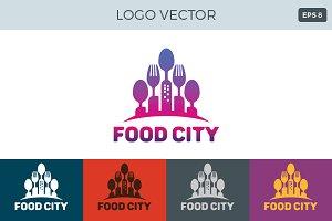 Food City Logo Vector