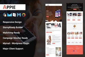 APPIE- RESPONSIVE EMAIL TEMPLATE