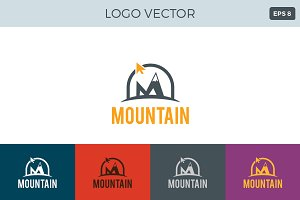 Montain Logo template