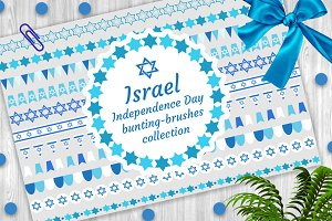 Israel bunting collection + Bonus