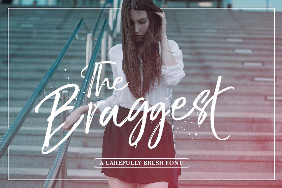 The Braggest (+Webfont)