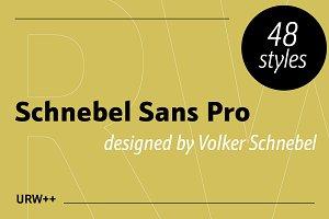 Schnebel Sans Pro Full Volume