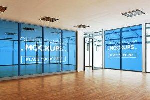 20+ Offices Branding Mock-ups