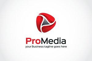 Pro Media Logo Template