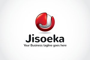 Jisoeka Logo Template