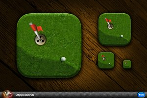Golf App Icon 1