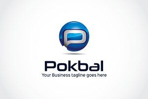 Pokbal Logo Template