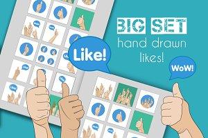 Hand gesture - Like