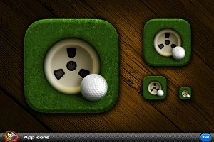 Golf App Icon 2