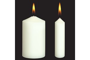 Realistic Vector Candles