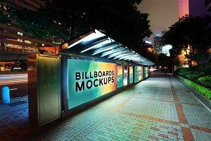 Billboard Mockup at Night #15