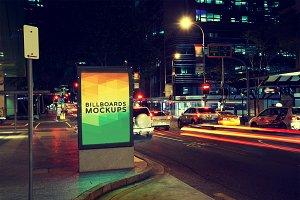 Billboard Mockup at Night #20