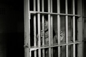 Jailed....