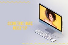 Imac Isometric Mock-up