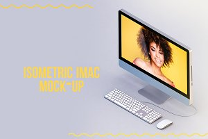 Imac Isometric Mock-up