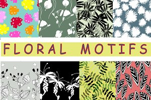 floral motifs patterns
