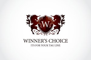 winner's choice Logo Template
