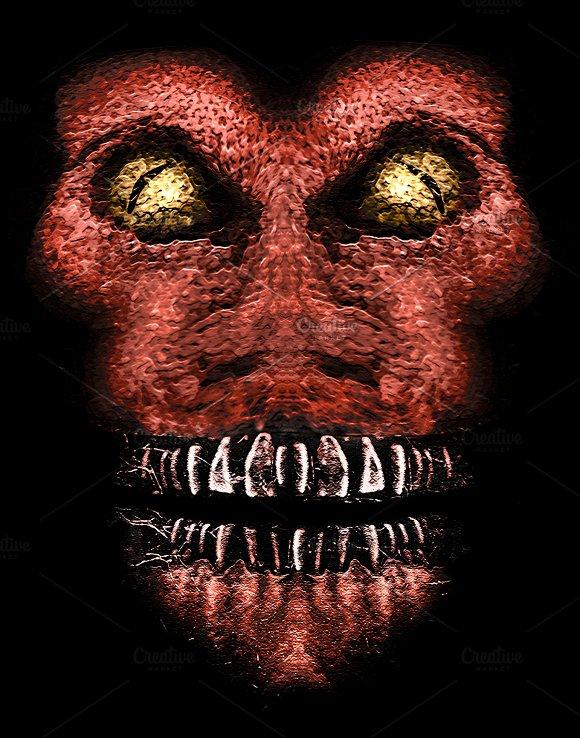 Evil Ape Horror Portrait