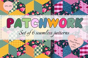 Collection of patchwork patterns