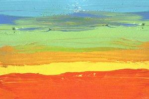 acrylic, watercolor brush stroke