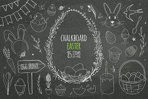 Chalkboard Easter