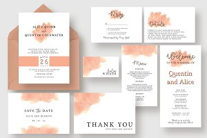 Stylish Blush Wedding Suite
