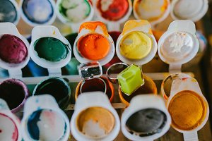 Paint for painting and rings