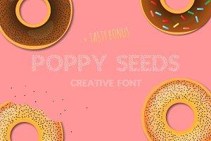 Font Poppy Seeds +Bonus)