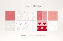Love & Wedding – Icon Patterns
