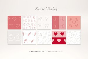 Love & Wedding – Icon Patterns