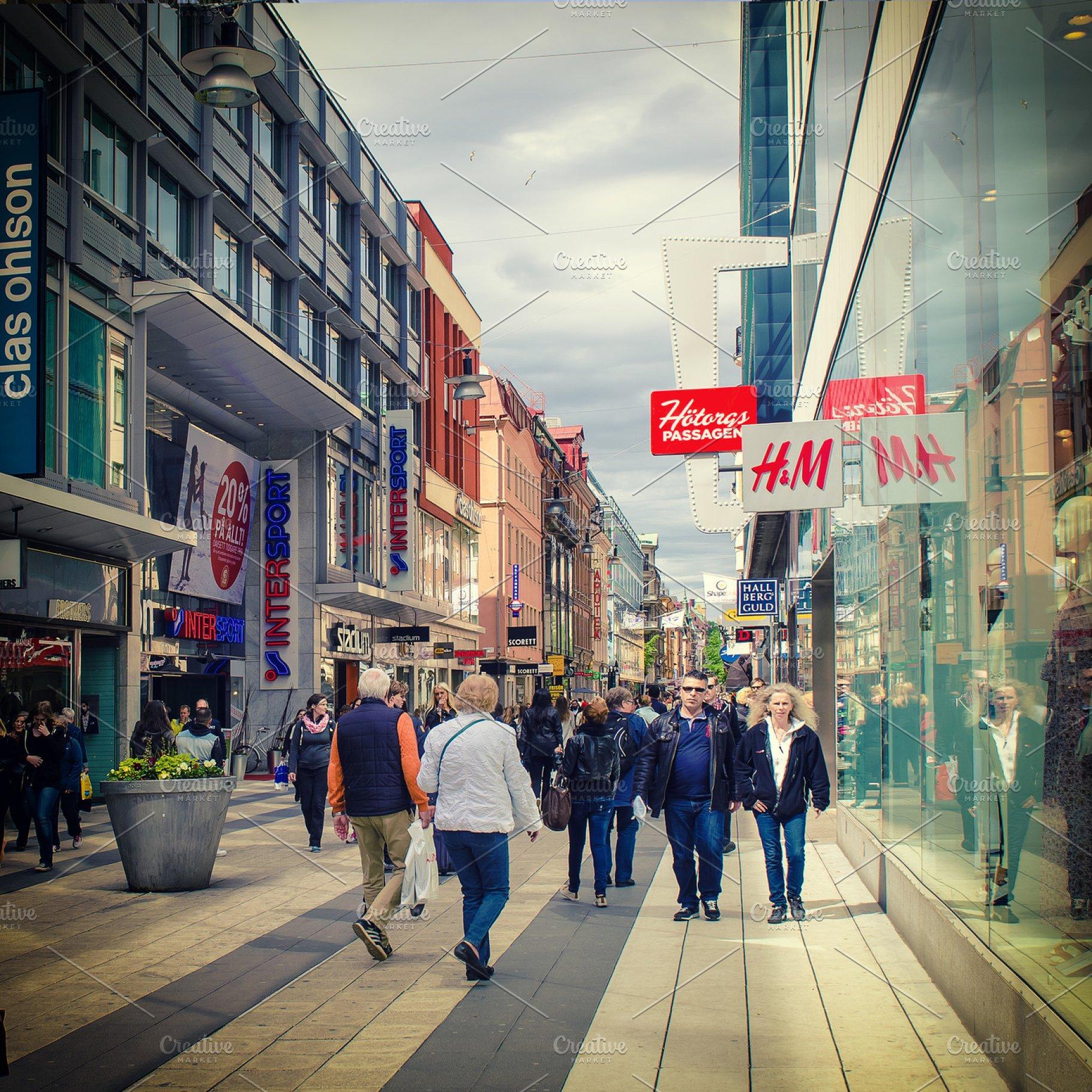 shopping stockholm city