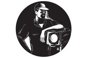 Film Crew Lighting Fresnel