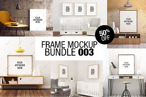 Frame Mockup Bundle 003 - 50% OFF