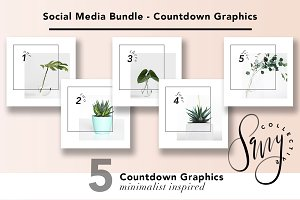 Social Media Bundle - Countdown