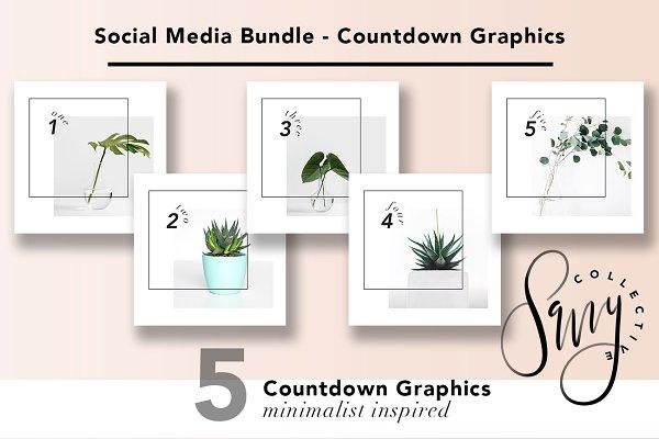 Social Media Bundle - Countdown