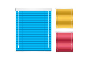 Color Shutters Blind.