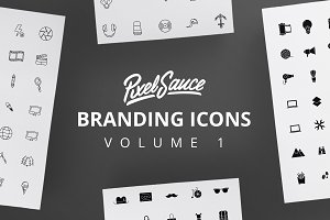 200 Monoweight & Solid Logo Icons