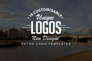 18 Retro Logo Set - NEW