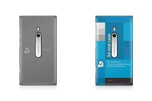 Nokia Lumia 800 3d IMD Phone Cover