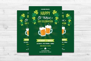 St. Patrick's Day Flyer-V501