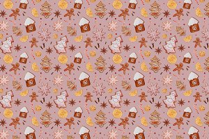 Winter sweets pattern