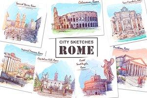 Sketching Rome - 3 Colors Bundle