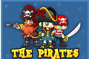 The Pirate - Game Sprite