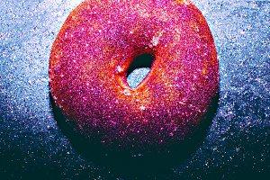 Donut Fashion Shining fast food