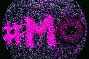 Glitter Text Mood Minimal Design