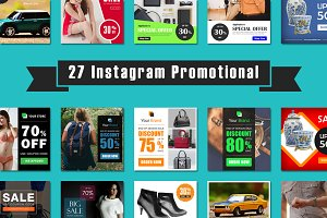 27 Instagram Promotional
