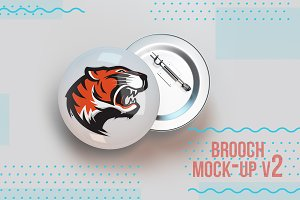badge pin brooch mock-up V2