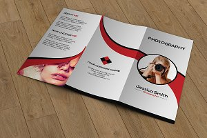 Photography Trifold Brochure -V670