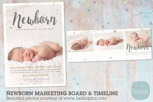 IN010 Newborn Marketing Bundle