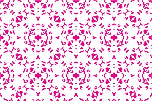 Ornate Decorative Seamless Pattern